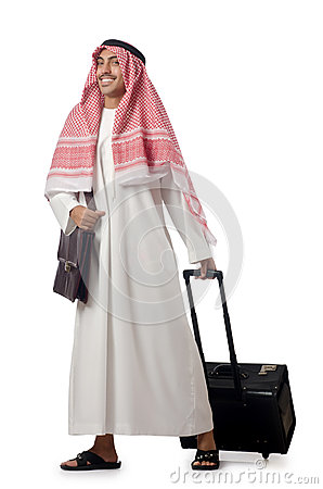 Arab on his trave