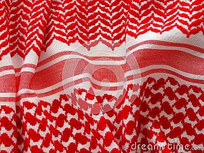 Arab keffiyah pattern.