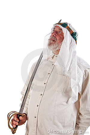 Arab Man with a Sword