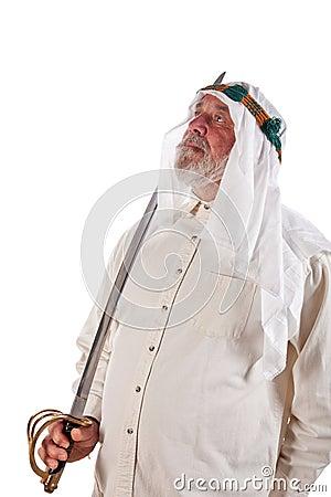 Arab Man with a Sword