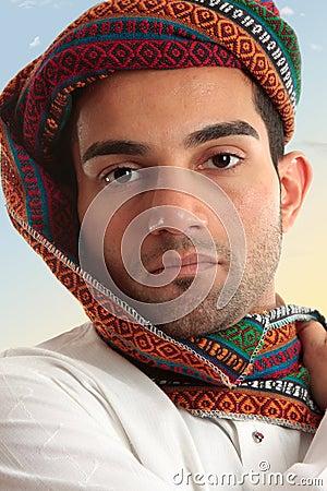 Free Arab Man Wearing Turban Royalty Free Stock Images - 14487479