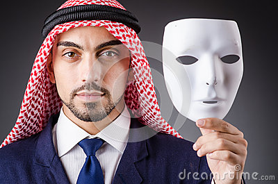Arab with masks