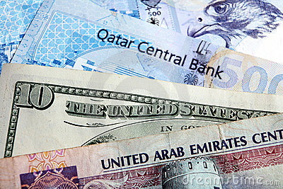 Arab money dollar riyal crisis