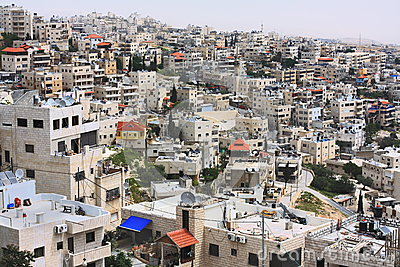 Arab  neighborhood in Jerusalem