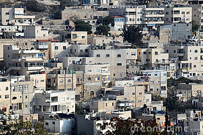 Arab Silwan Village in Jerusalem