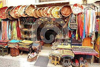 Arab souvenir shop