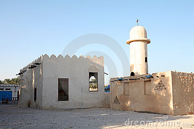 Arab village mosque