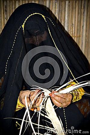 Arab woman craft