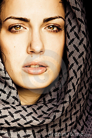 Free Arab Woman With Piercing Royalty Free Stock Photography - 7785307