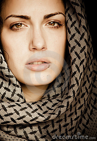 Free Arab Woman With Piercing Royalty Free Stock Photography - 8826677