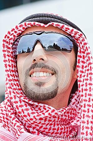 Araber auf der Straße