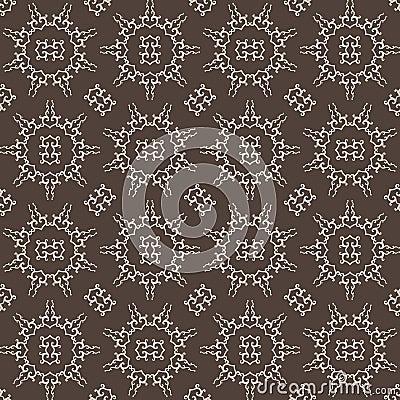 Arabesque Inspired Seamless Pattern