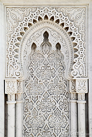 Free Arabesque Marble Panel Royalty Free Stock Photography - 30815997