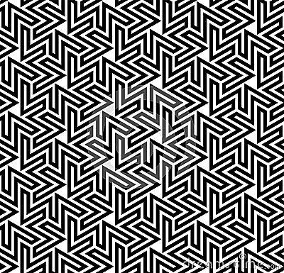 Arabesque Optical Pattern