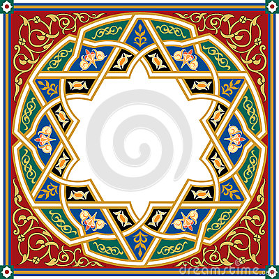 Free Arabesque Pattern Royalty Free Stock Photos - 39160268