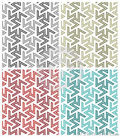 Free Arabesque Repeat Patterns Stock Image - 15658721