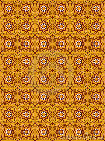 Arabesque Vector Background 001