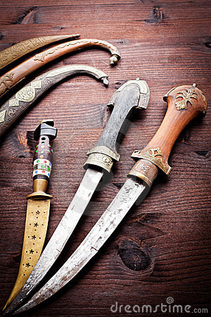 Arabian ancient daggers