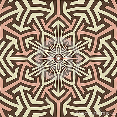 Arabian art inspired vector pattern.