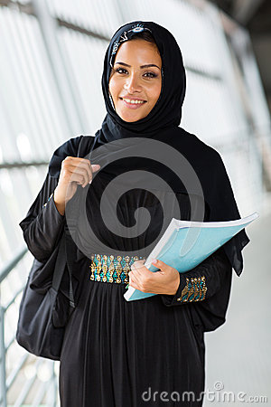Arabian college student