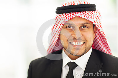 Arabian corporate executive