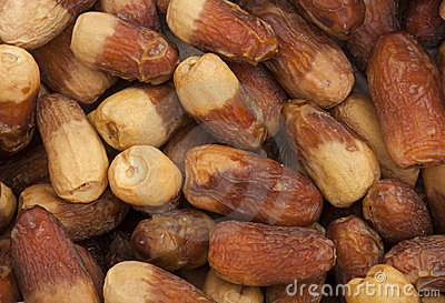Arabian Dates Crop Texture