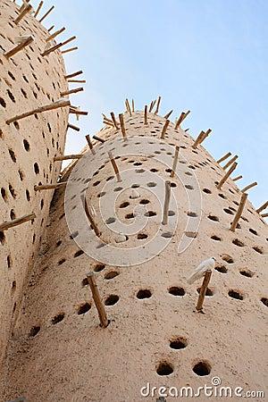 Free Arabian Dovecote Royalty Free Stock Image - 17886026