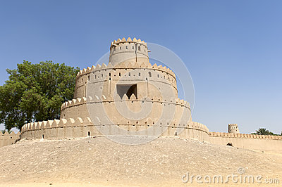 Arabian fort in Al Ain