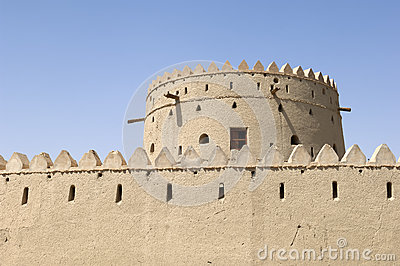 Arabian fort in Al Ain