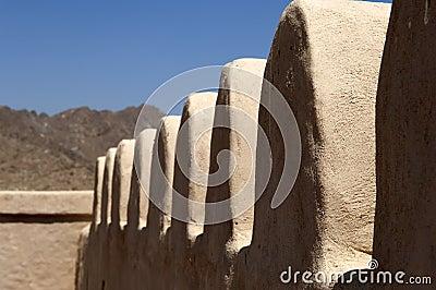 Arabian fort in Ras al Khaimah