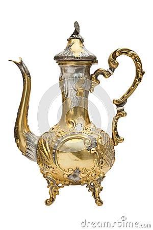 Arabian gild Coffee Pot