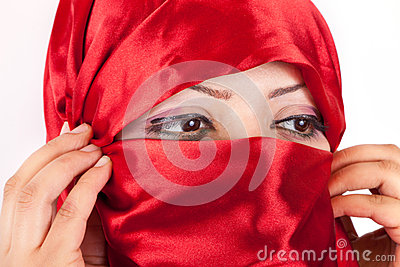 Arabian Girl Eyes