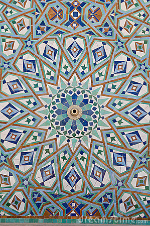 Arabian mosaic art