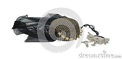 Arabian nights headwear and necklace
