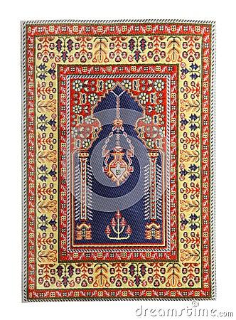 Arabian silk carpet