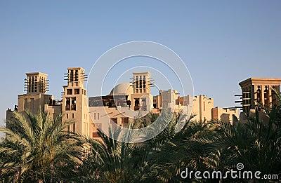 Arabian Style Buildings