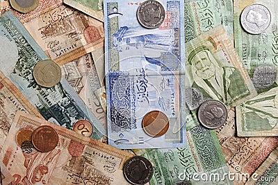 Arabic  banknotes