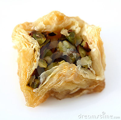 Arabic birds nest pastry