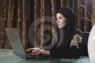 Arabic bussines lady