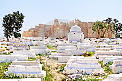 Arabic cemetery next to Ribat