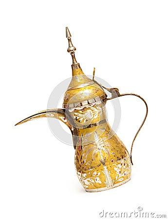 Free Arabic Coffe Pot (Qahwa) Royalty Free Stock Images - 19781689
