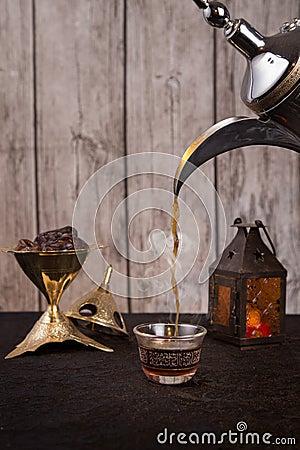 Free Arabic Coffee Royalty Free Stock Photography - 72025037