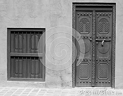 Arabic Heritage Door and Window