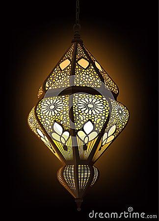 Free Arabic Lantern Stock Image - 19736771
