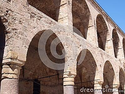 Arabic Mediterranean style arches