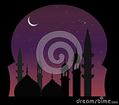 Arabic Night View