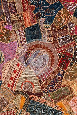 Arabic patchwork quilt