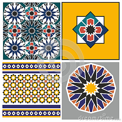 Arabic pattern Vector Illustration