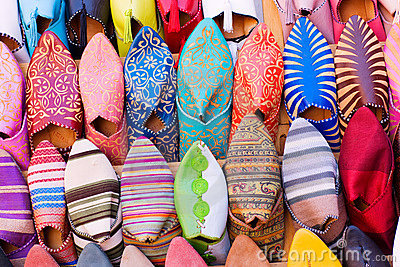 Arabic shoes