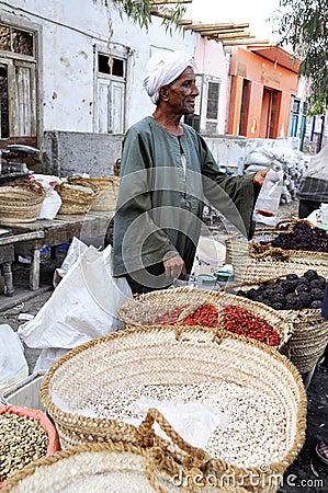 Arabic spice market Editorial Photo